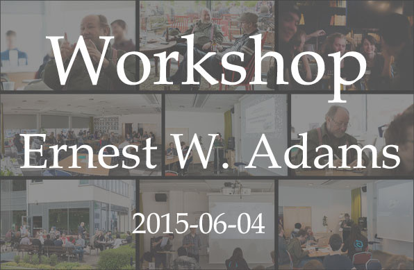 Ernest Adams Workshop and Afterparty