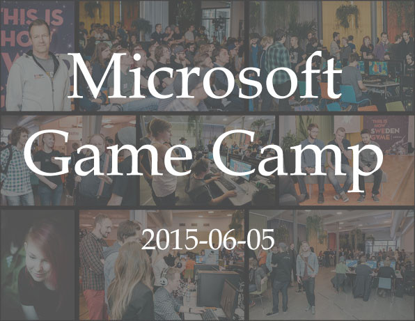 Microsoft Game Camp - June 2015