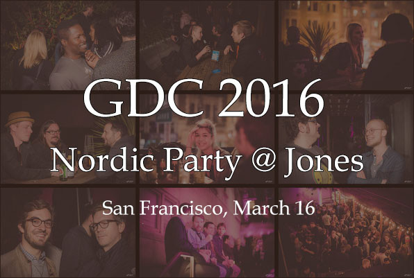 Nordic Game Party @Jones - GDC 2106