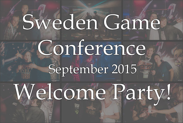Sweden Game Conference - The Welcome Party