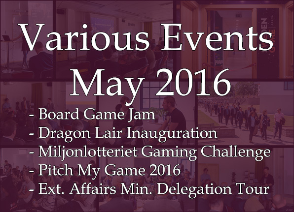 Various Events - May 2016
